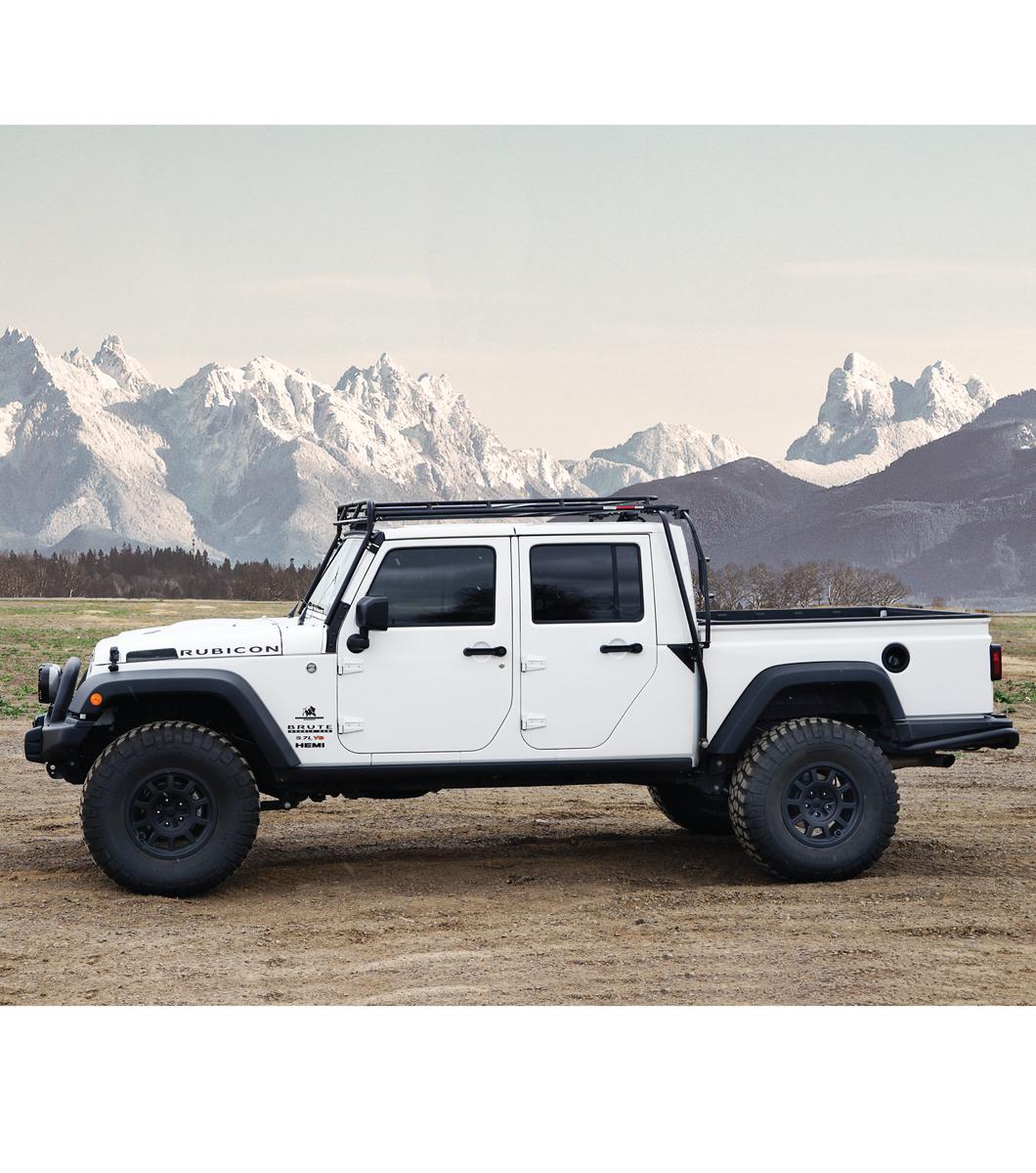 Jeep Brute Gobi Racks