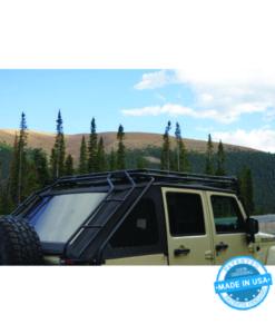 GOBI Jeep Wrangler JK45 Slantback Ladder - Passenger Side