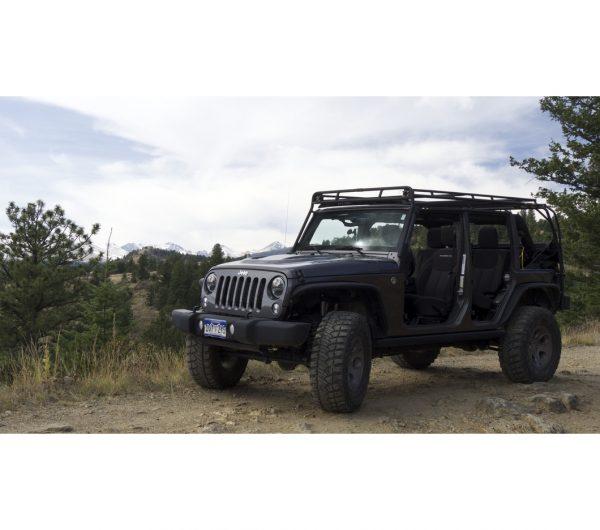 Jeep Jku 4door 183 Stealth Rack 183 Reg 4 Light Setup Gobi Racks