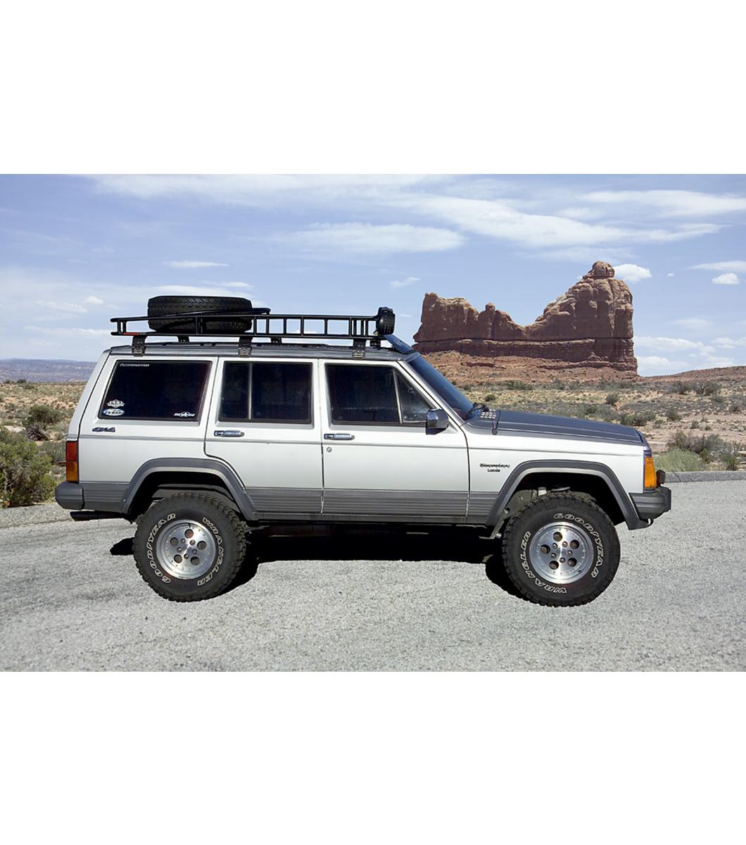 Jeep Cherokee Xj 183 Ranger W Tire Rack 183 Multi Light Setup