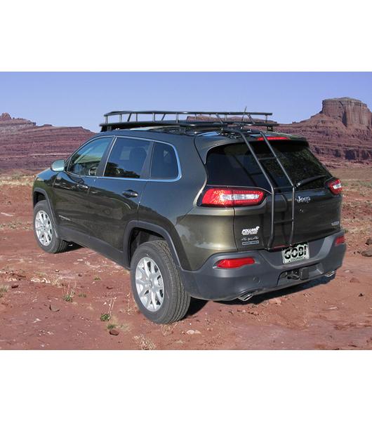 jeep cherokee kl ranger rack 4 independent led lights no sunroof gobi racks. Black Bedroom Furniture Sets. Home Design Ideas