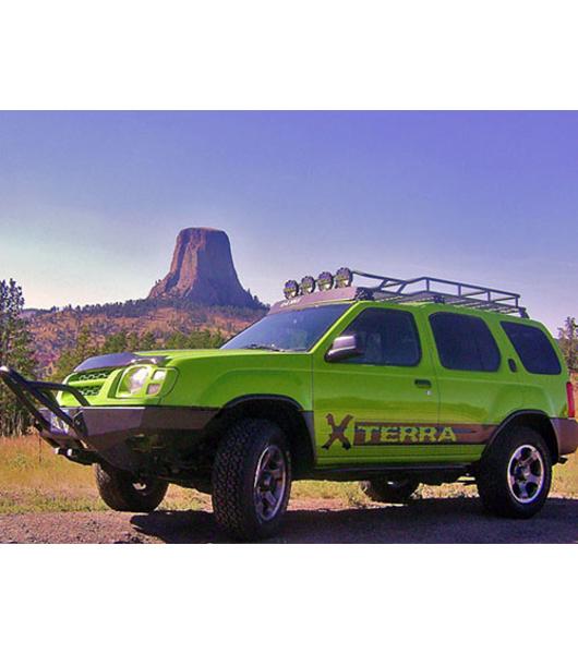 2005 Nissan Xterra Off Road >> NISSAN XTERRA 00-04· RANGER RACK · Multi-Light Setup· NO SUNROOF - Gobi Racks