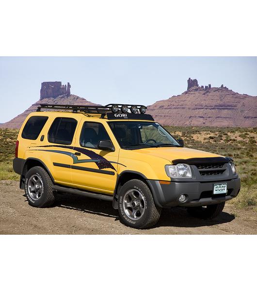 Nissan Xterra Roof Rack >> Gobi Nissan Xterra 00 04 Stealth Rack Multi Light Setup
