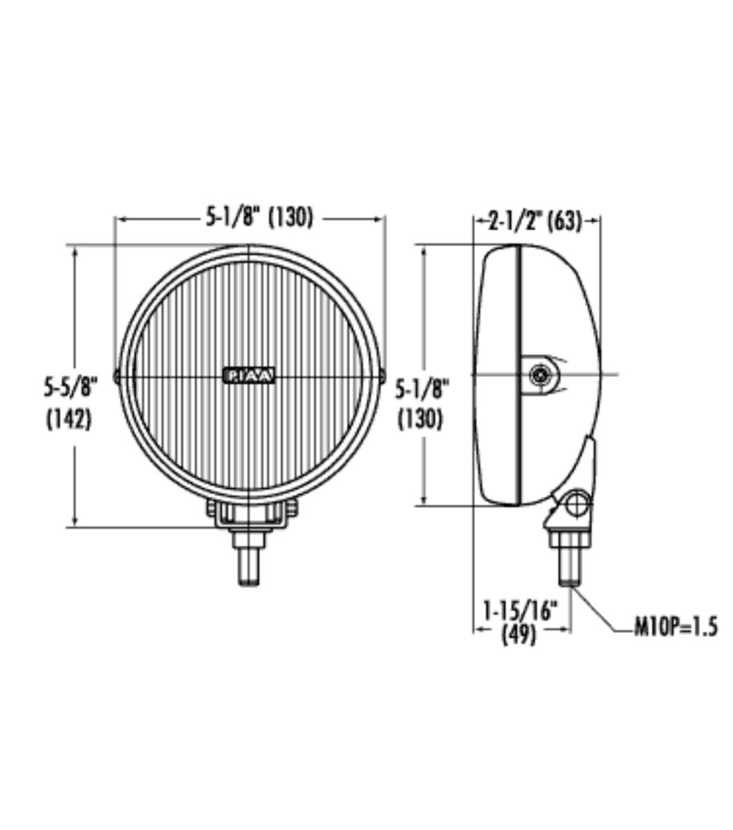 piaa 540 halogen lamp kit  u00b7 fog u00b7 ion yellow fog u00b7 item