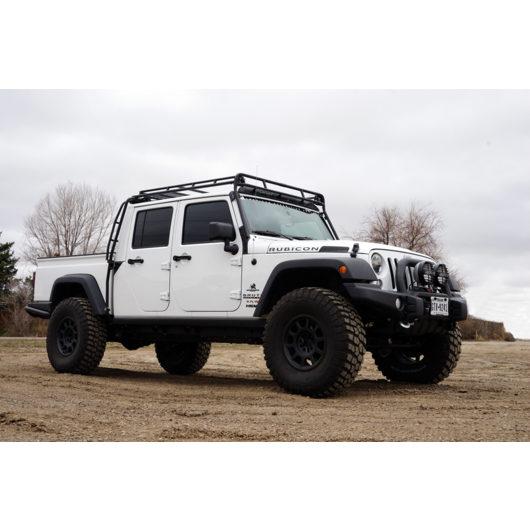 Jeep Aev Brute 183 Stealth Rack 183 4 Independent Led Lights