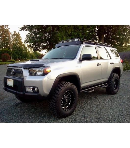 Toyota Tacoma Roof Rack Double Cab >> TOYOTA 4RUNNER 5th GEN· STEALTH RACK· Multi-Light Setup ...