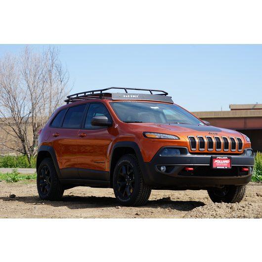 jeep cherokee kl stealth rack 4 independent led lights no sunroof gobi racks. Black Bedroom Furniture Sets. Home Design Ideas