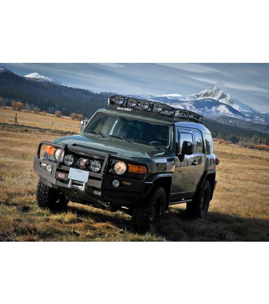 2005 Nissan Xterra Off Road >> TOYOTA FJ CRUISER · RANGER RACK· Multi-Light Setup - Gobi Racks