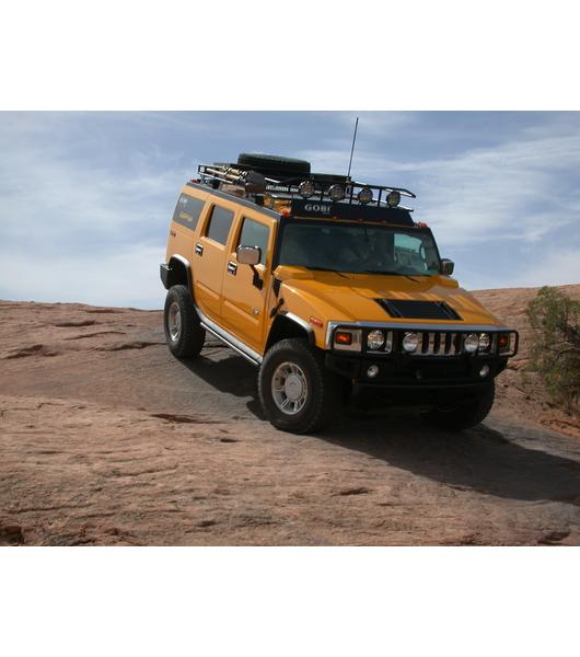 Hummer H2 183 8ft Ranger With Tire Rack 183 Multi Light Setup