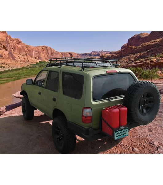 Toyota 4runner 3rd Gen 183 Ranger Rack 183 Multi Light Setup