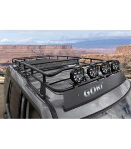 Gobi Land Rover Lr 4 Ranger Rack With Sunroof Multi Light