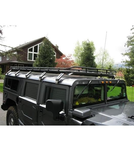 Gobi Hummer H1 Wagon Stealth Rack Multi Light Setup