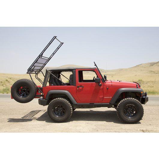 Gobi Roof Racks Jeep Wrangler Ranger Rack Side