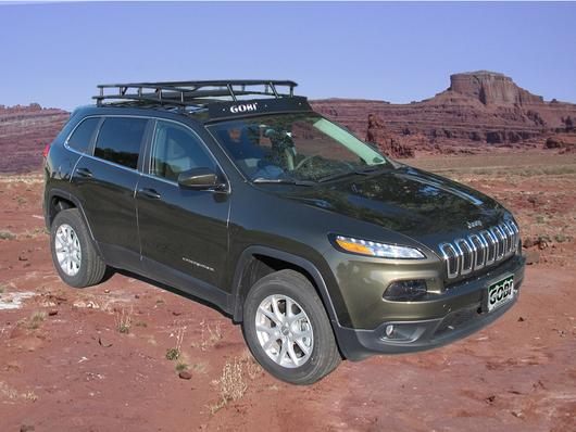 Jeep Cherokee Kl 183 Ranger Rack 183 4 Independent Led Lights