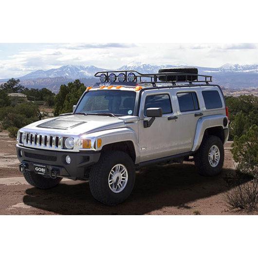 hummer h3 ranger with tire rack 4 independent led. Black Bedroom Furniture Sets. Home Design Ideas