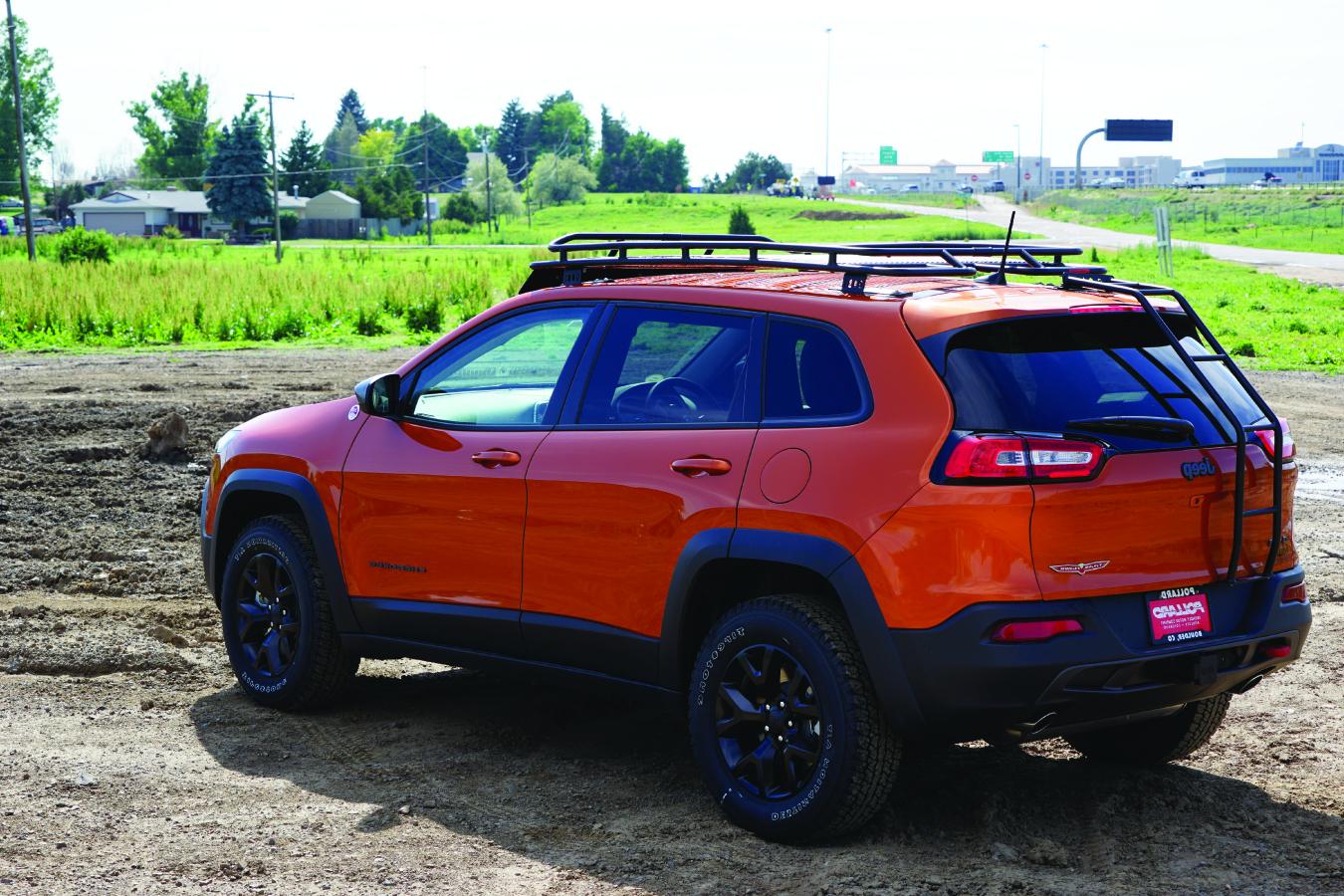 gobi-roof-racks-jeep-cherokee-kl-stealth-rack-rear-ladder-low - Gobi Racks