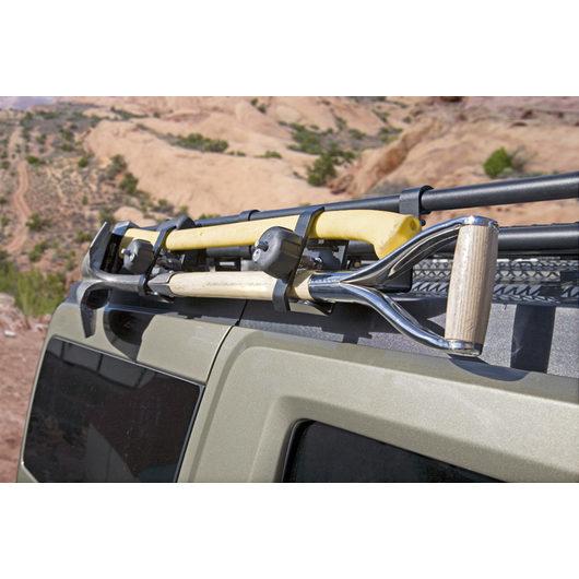 Gobi Roof Racks Hummer H2 Ax Shovel Attachment