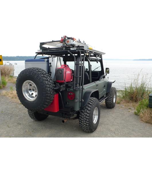 Jeep Yj 86 95 183 Ranger Rack 183 Multi Light Setup Gobi Racks