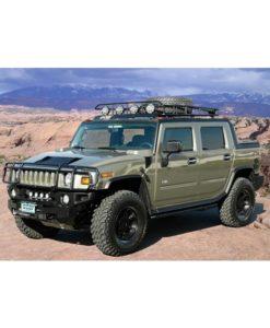 gobi-roof-racks-hummer-h3t-ranger-with-tire-front-1