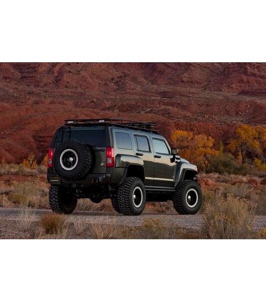 Hummer H3 183 Ranger Rack 183 4 Independent Led Lights 183 With