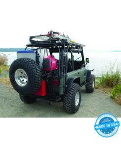 GOBI Jeep Wrangler YJ Rear Ladder - Passenger Side