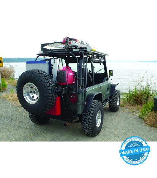 Gobi Jeep Wrangler Yj Rear Ladder Passenger Side