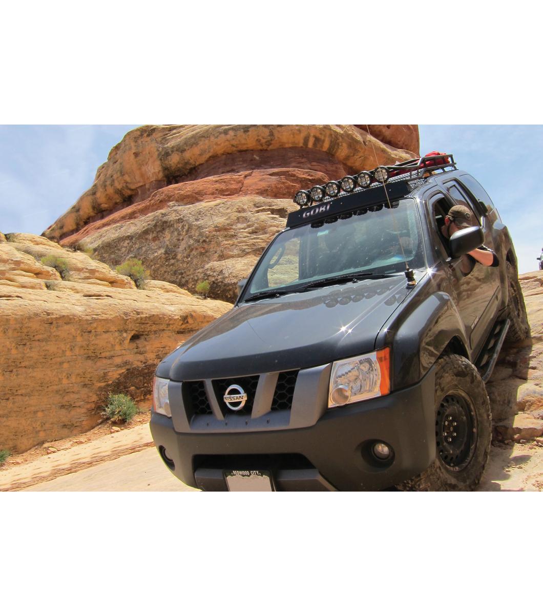 Gobi Nissan Xterra 00 04 Ranger Rack Multi Light Setup With Sunroof