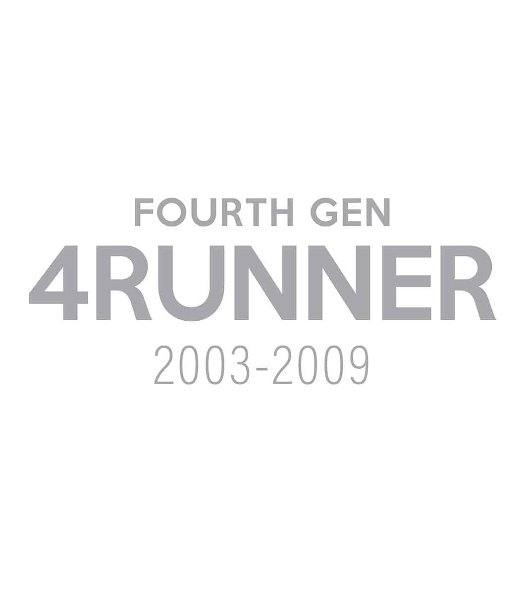 Toyota 4Runner 4th Generation (2003–2009)