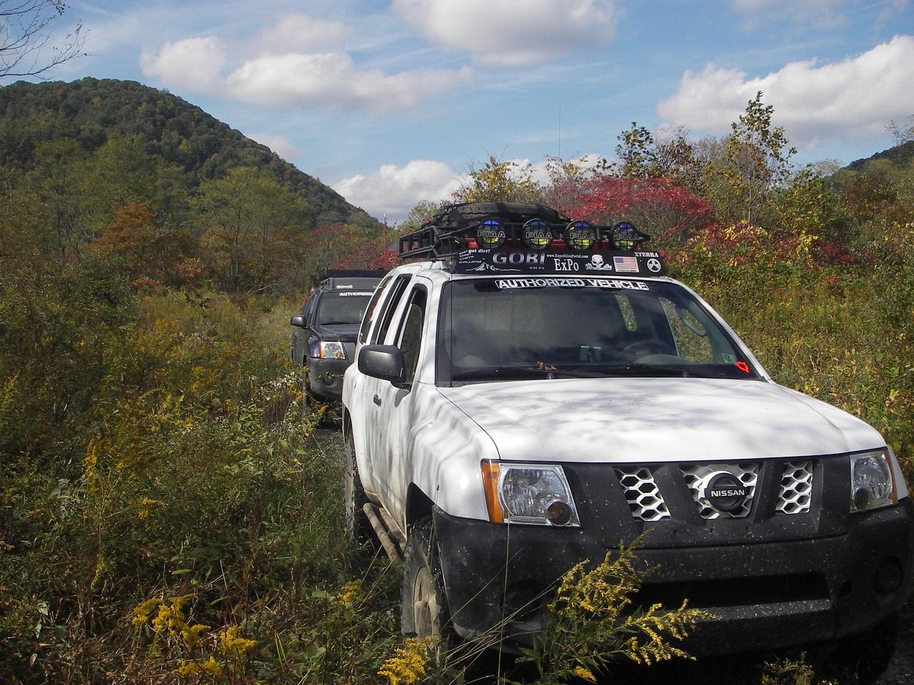 Gobi Nissan Xterra 00 04 Ranger Rack Multi Light Setup