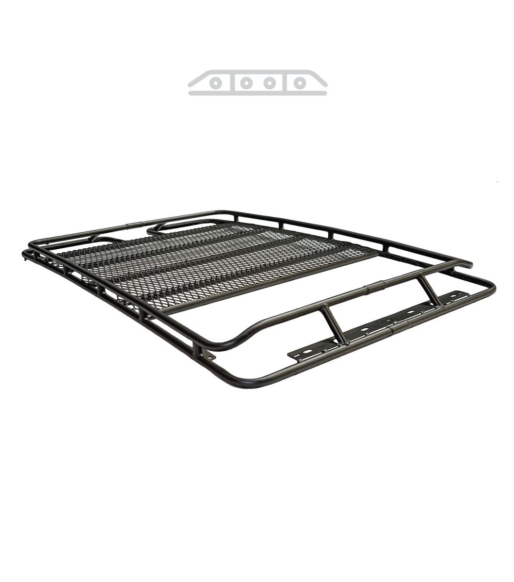 jeep cherokee kl u00b7 stealth rack  u00b7 multi-light setup u00b7 with sunroof
