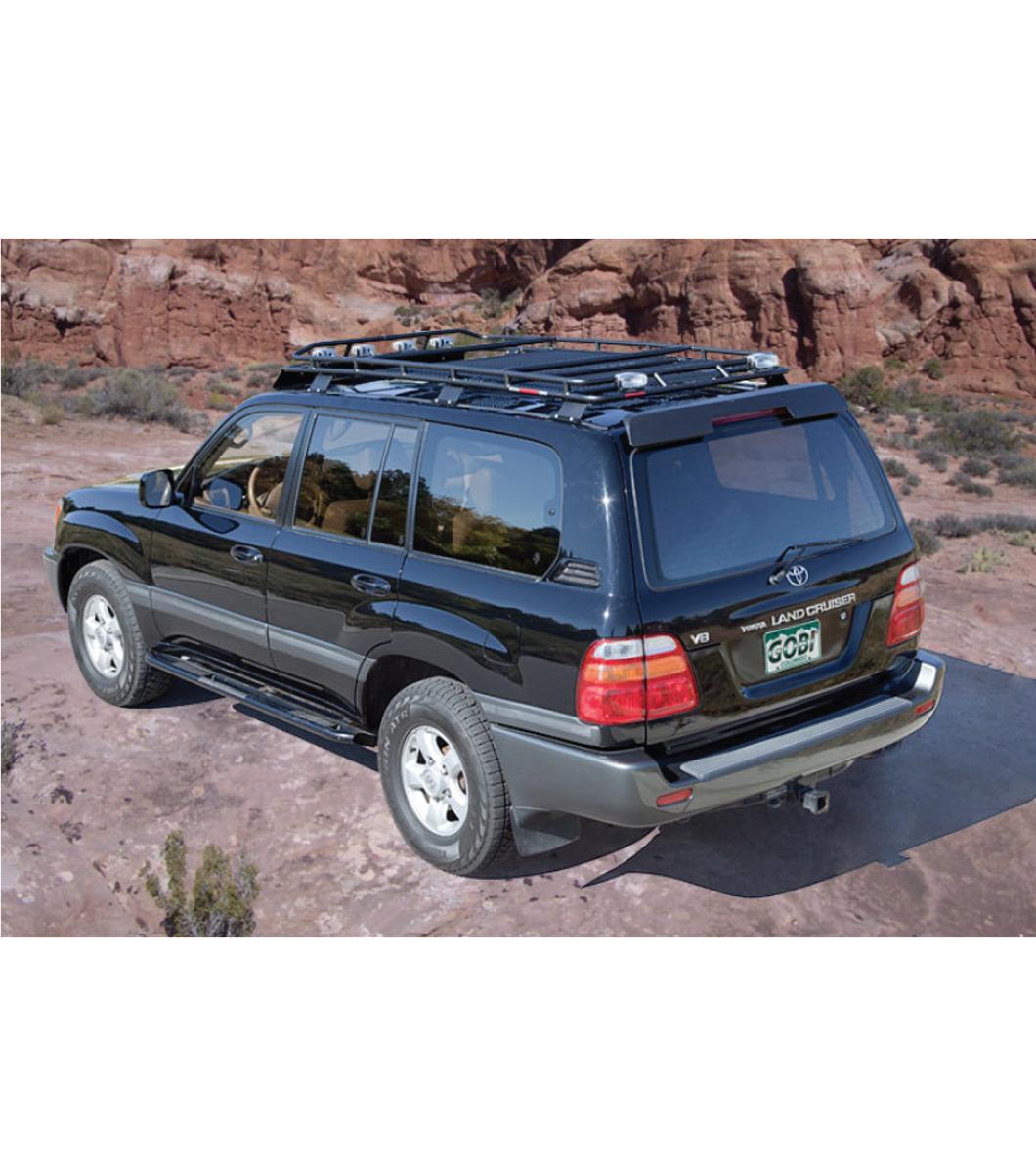 toyota land cruiser 100stealth rack multi light setup no sunroof rh gobiracks com Toyota Land Cruiser Diesel Toyota Land Cruiser Car
