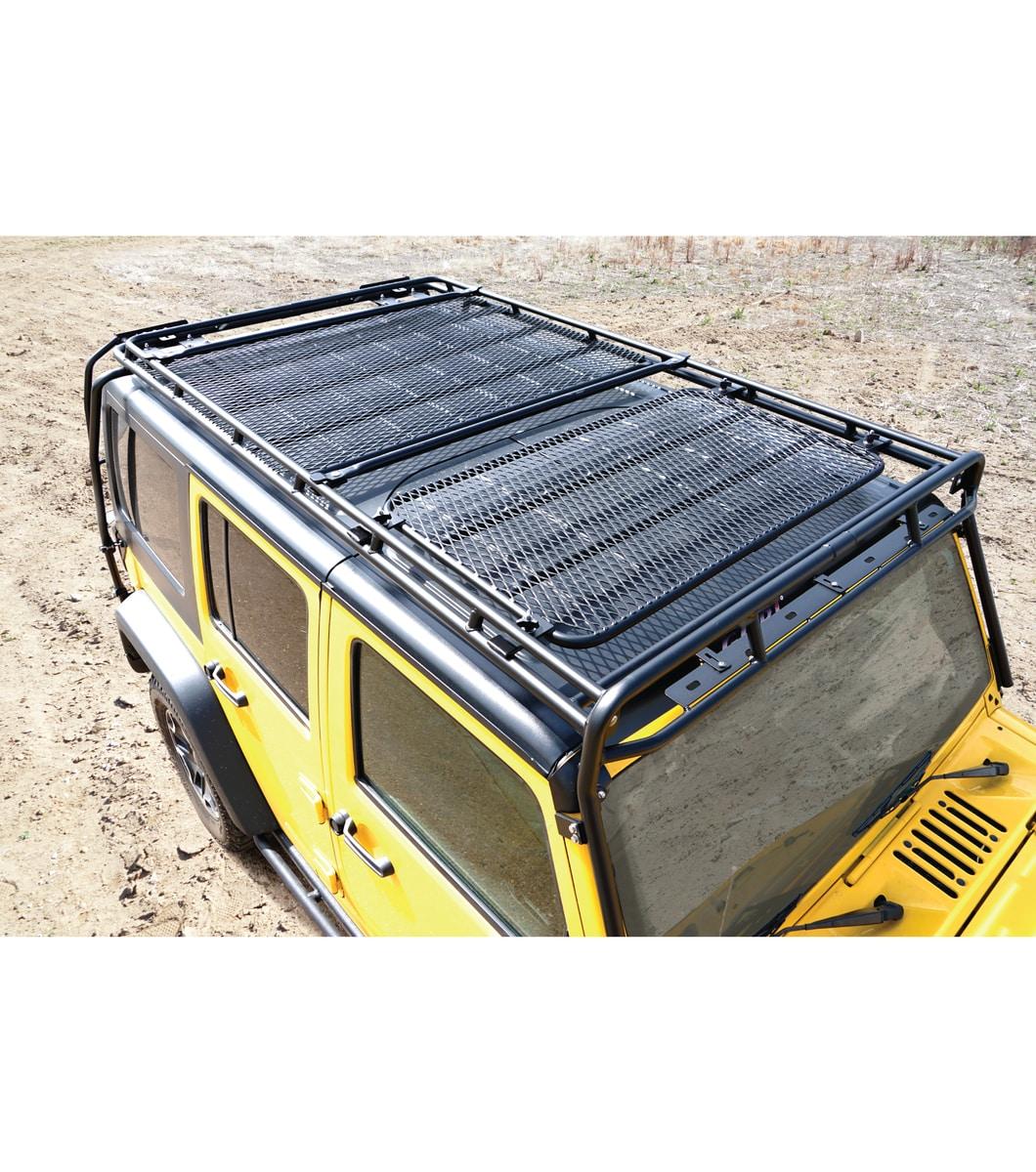 Jeep Jku 4door Stealth Rack 183 Multi Light Setup Gobi Racks