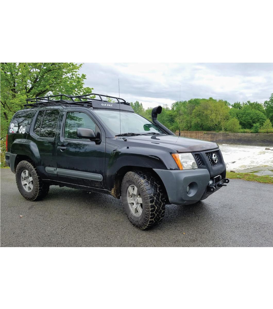 Nissan Xterra Roof Rack >> Gobi Nissan Xterra 00 04 Ranger Rack Multi Light Setup With Sunroof