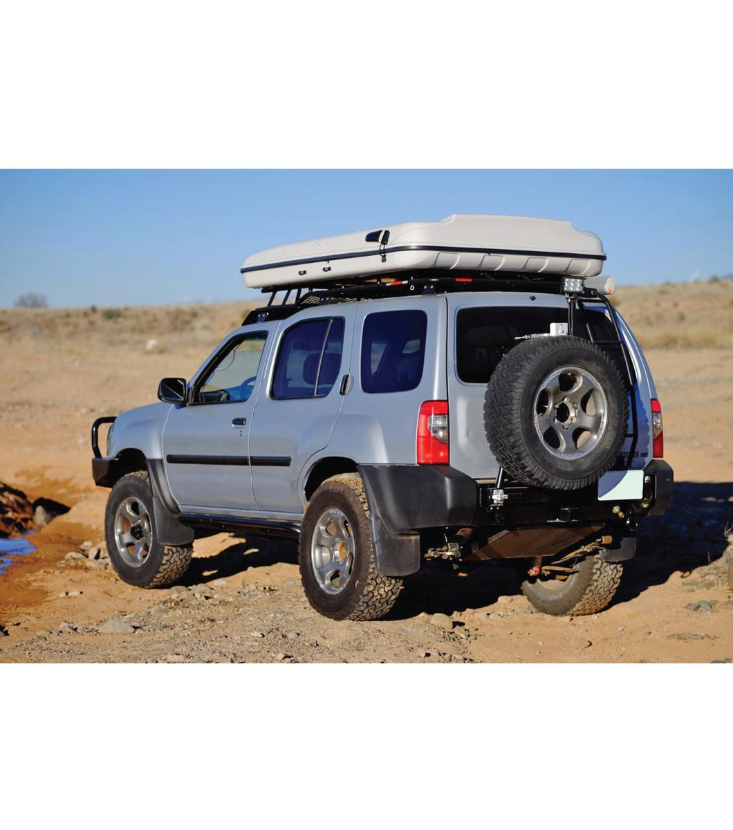 Gobi Nissan Xterra 00 04 Stealth Rack Multi Light Setup