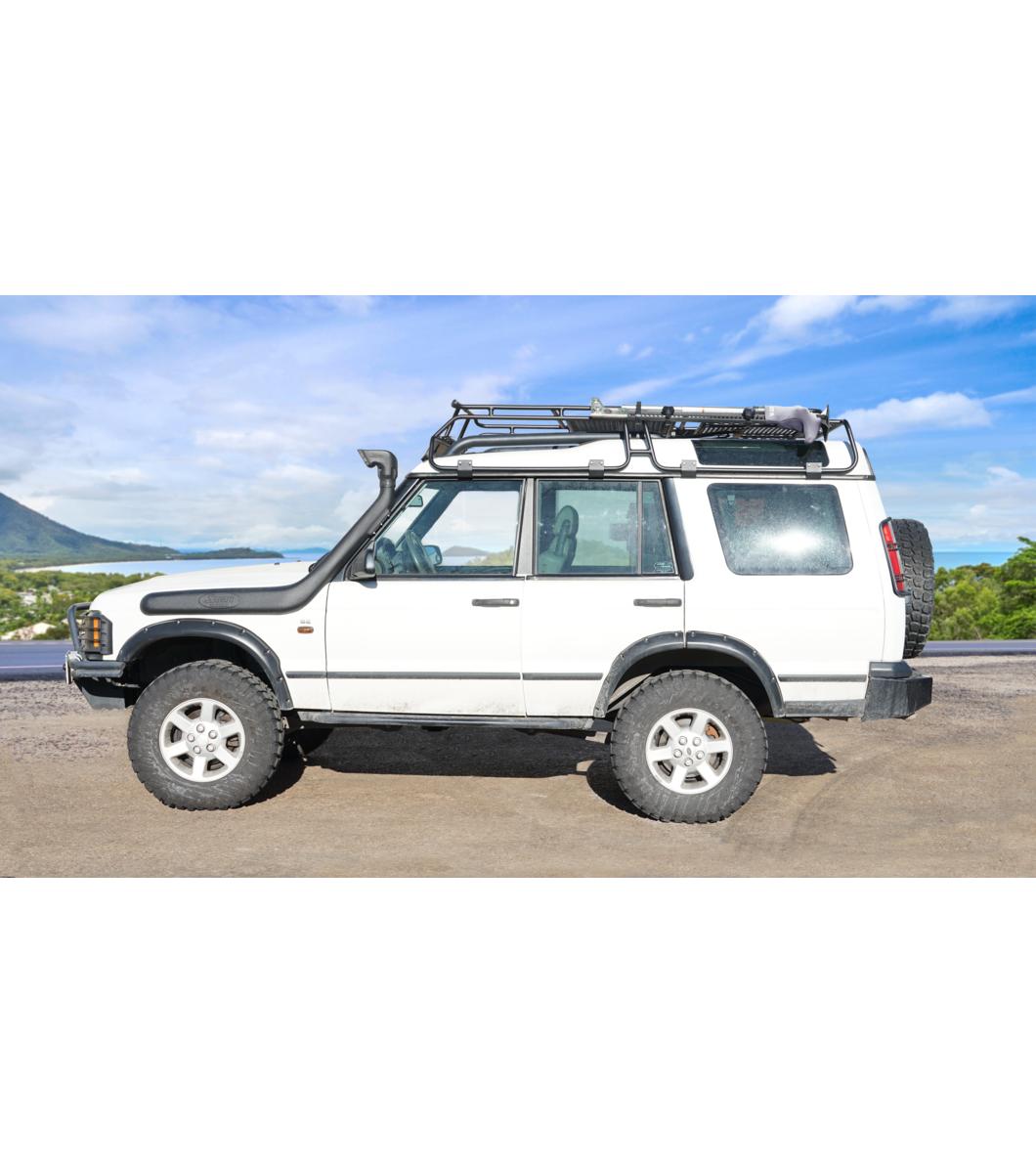 Land Rover Discovery 1995 Full Width: LAND ROVER DISCOVERY · RANGER RACK · Multi-Light Setup