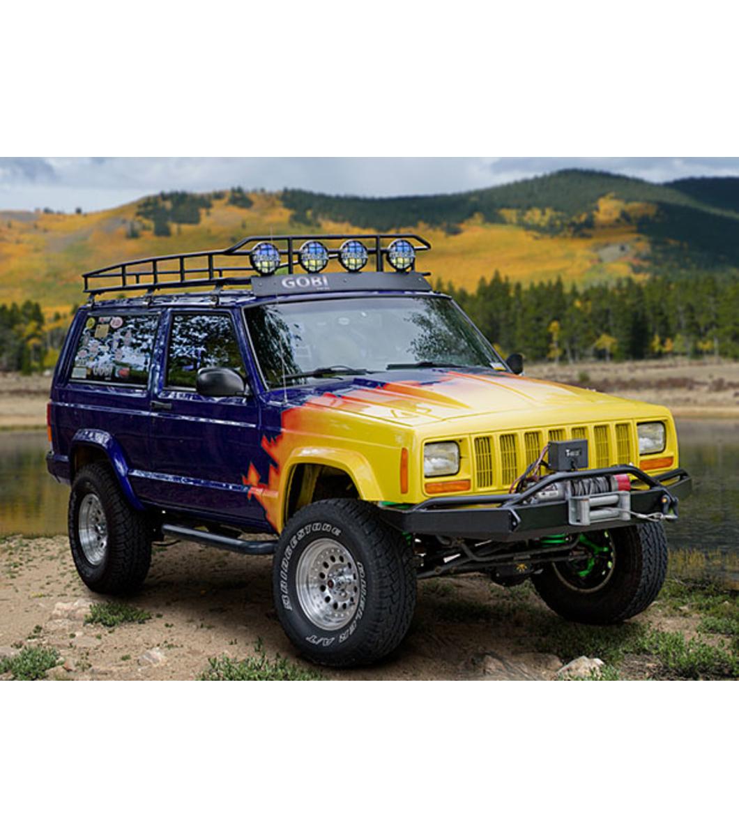 Jeep Cherokee Xjranger Rack 183 Multi Light Setup 183 No Sunroof