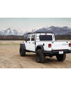 gobi roof racks jeep rev brute stealth rack rear ladders