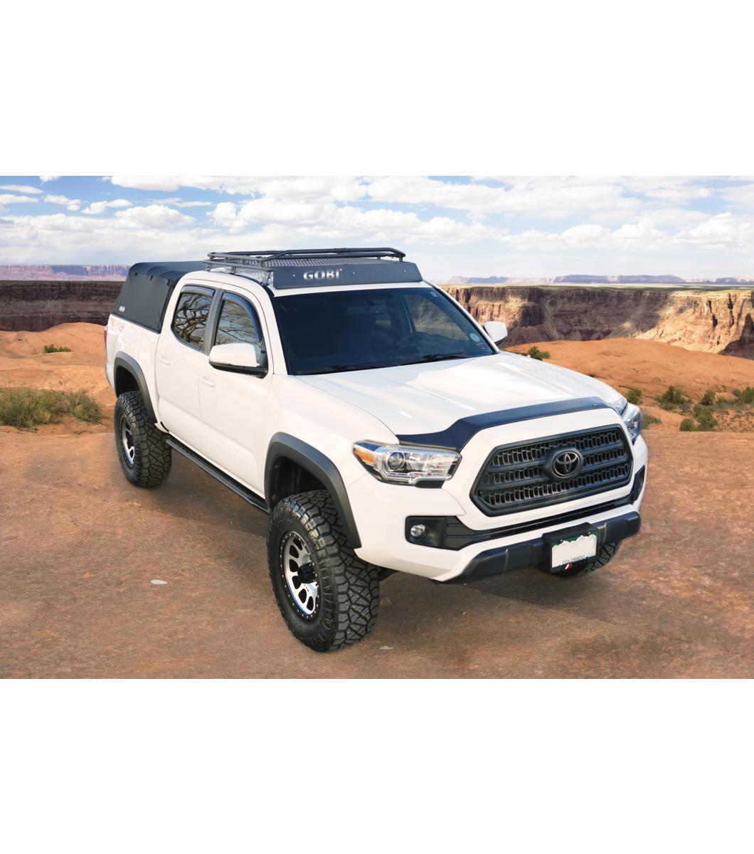 Captivating Gobi Usa Toyota Tacoma Stealth Roof Rack Front Led Opening