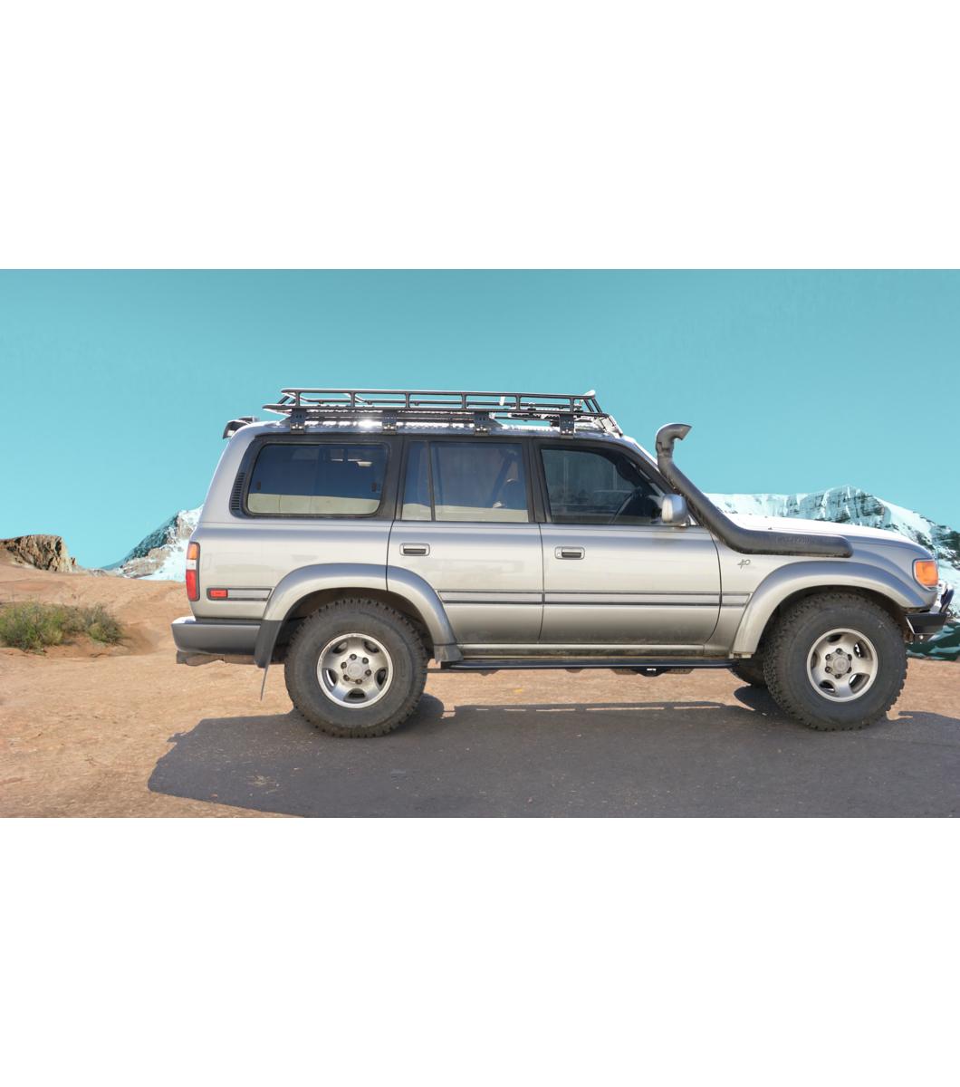 Beautiful Gobi Toyota Landcruiser 80 Ranger Roof Rack With Sunroof Opening