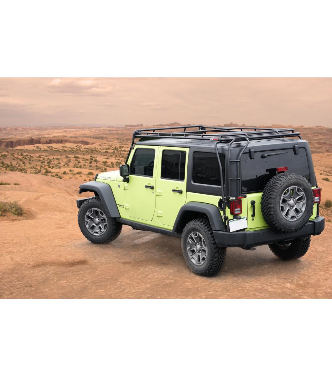 Jeep Jku 4door 183 Stealth Rack 183 4 Independent Led Lights
