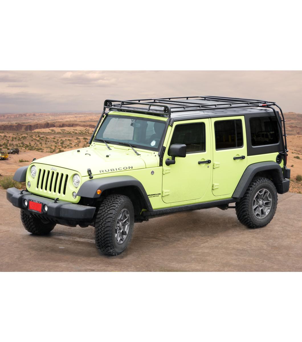 Jeep Jku Roof Rack >> JEEP JKU 4DOOR· STEALTH RACK· 4 Independent LED Lights - Gobi Racks
