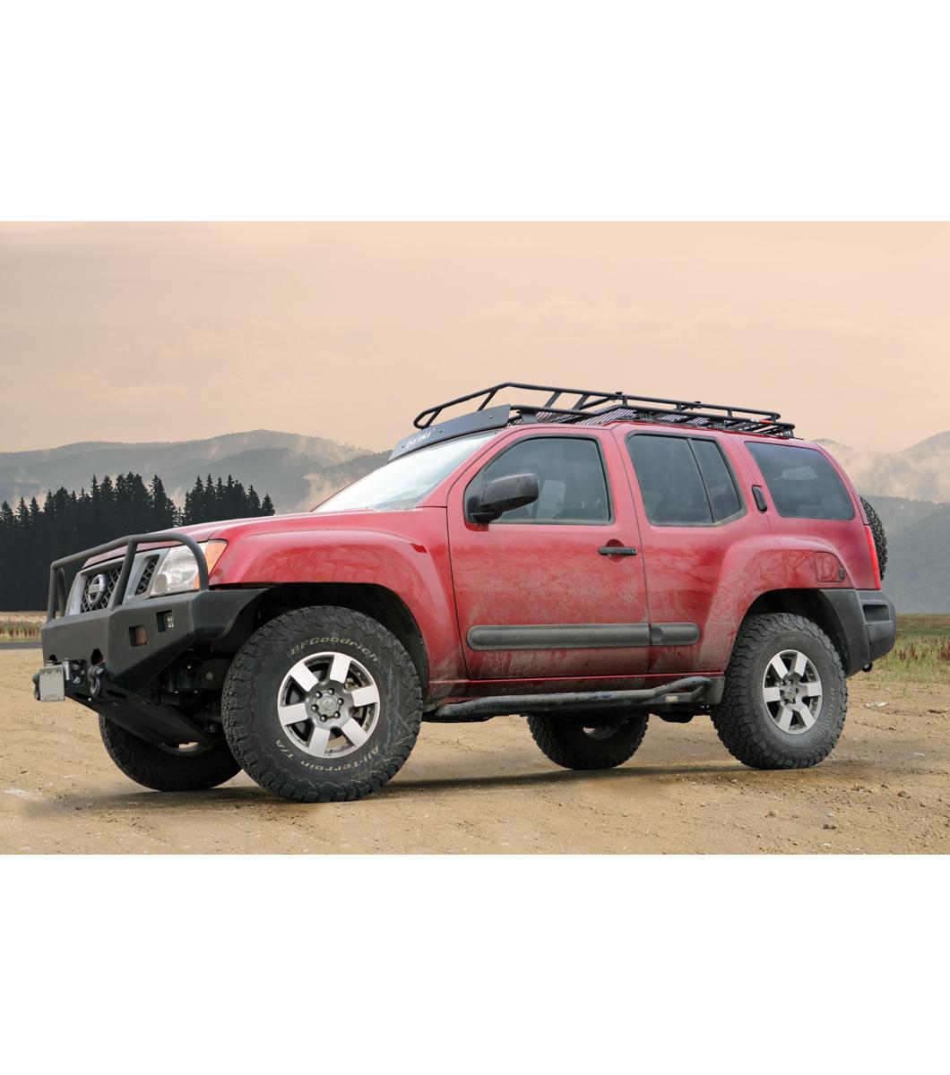 Nissan Xterra 05 15 183 Stealth Rack 183 4 Independent Led