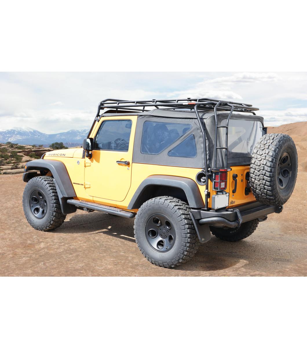 jeep jk 2door ranger rack multi light setup gobi racks. Black Bedroom Furniture Sets. Home Design Ideas
