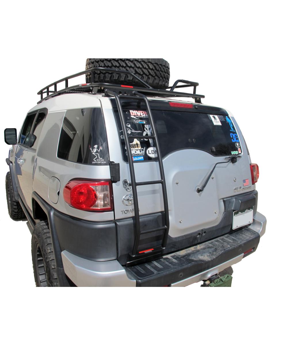 GOBI Toyota FJ Cruiser Rear Ladder - No Spare Tire ...