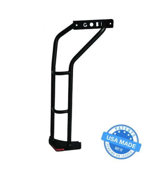 GOBI Jeep Wrangler JK Rear Ladder - Driver Side No Drilling