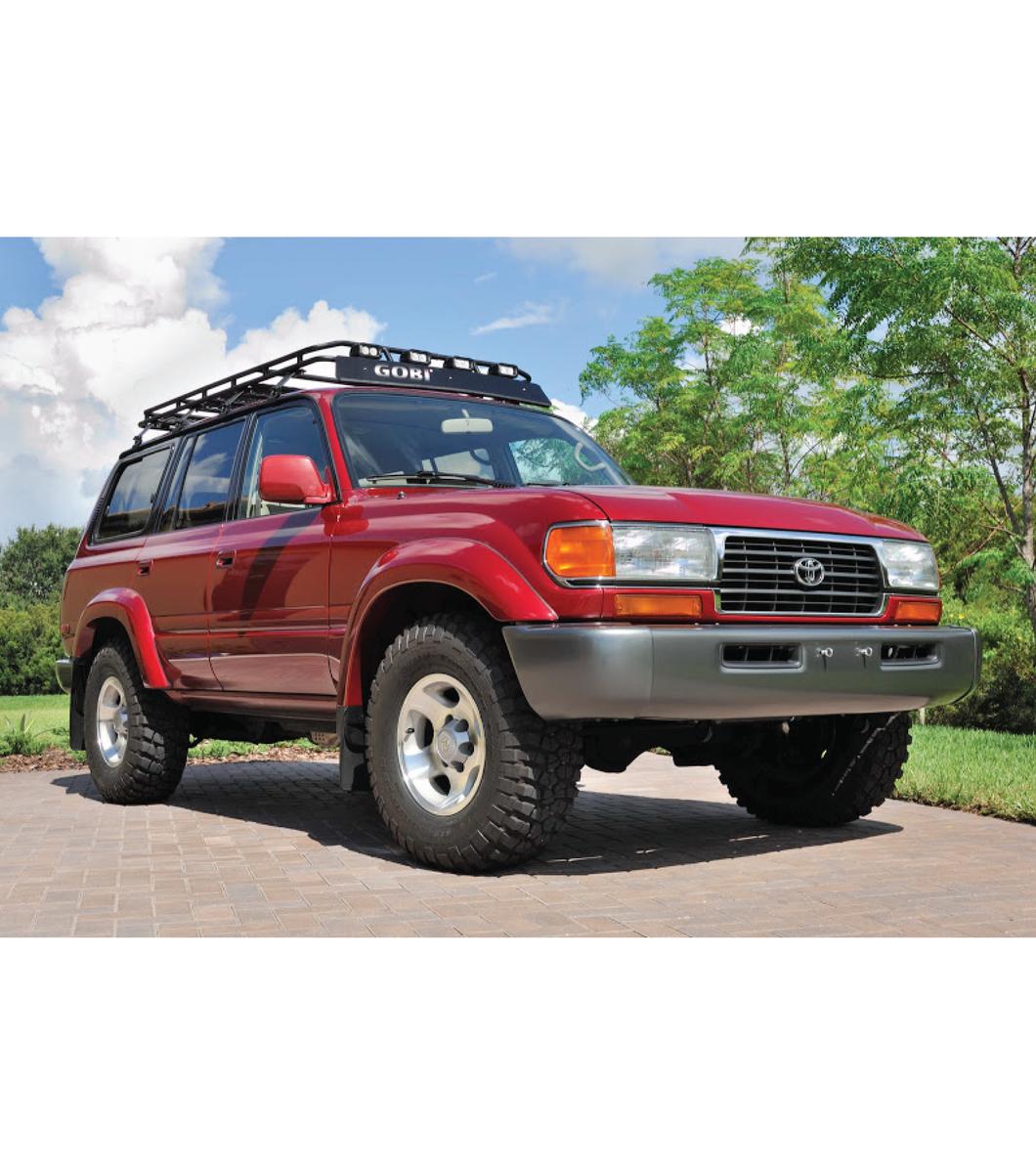 Toyota Landcruiser 80 Series Gobi Racks
