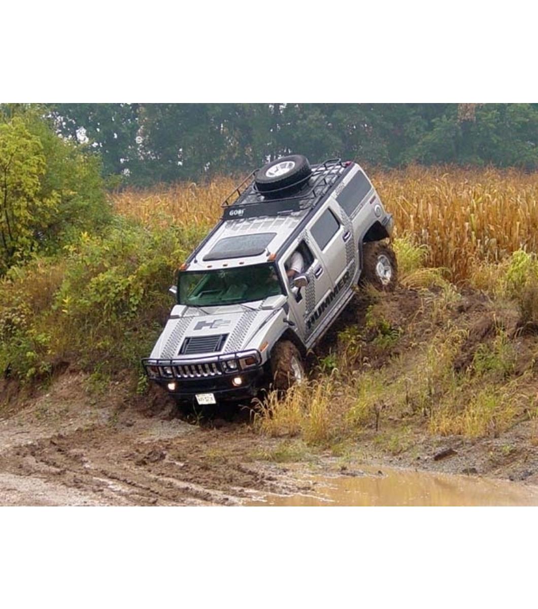Hummer H24 5ft Sport Editionranger W Tire Rack Gobi Racks