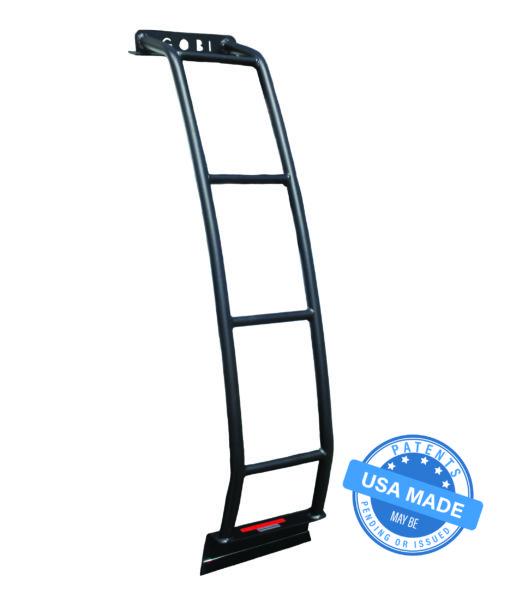 Toyota fj no spare tire rear ladder attachment free accessory