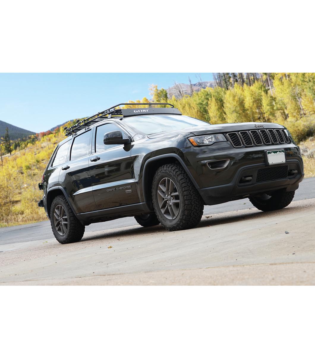 Jeep Grand Cherokee Wk2 183 Stealth Rack 183 Lightbar Setup