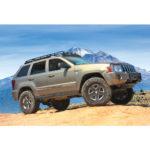 Jeep Grand Cherokee low profile rack